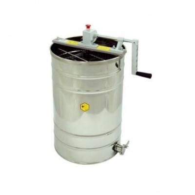 Медогонка ручная, 2 -рамочная, Дадант, Дадант 1/2, пласт.привод, диаметр 400 мм OPTIMA